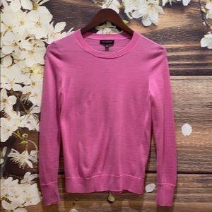 BANANA REPUBLIC (Pink) Crewneck Wool Sweater